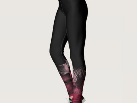 Ombre Swirl Leggings