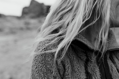 Windswept hair Is stunning, and creates natural beauty and authenticity.