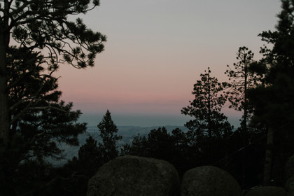 Mountain top sunset, nothing beats it. The views are incredible.