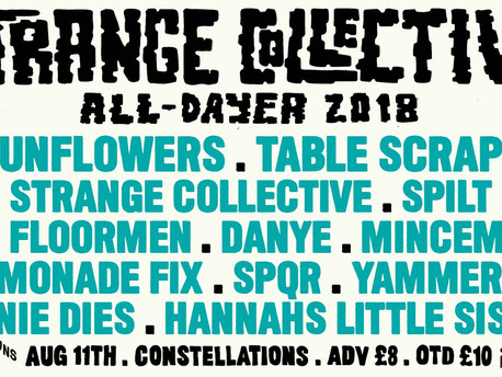 Strange Collective All-Dayer: PREVIEW