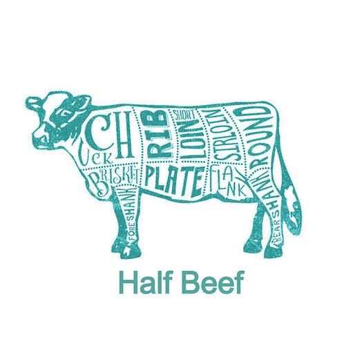 All Natural Premium Half Beef Deposit