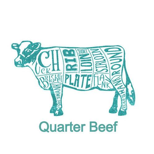 All Natural Premium Quarter Beef Deposit