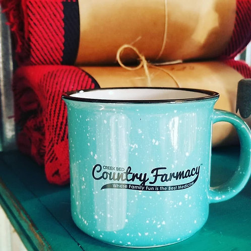 Creek Bed Country Farmacy 15. oz Ceramic Mug