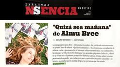 Reseña literaria en revista Zaragoza Nsencia