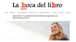 """Entrevista en """"La Boca del Libro"""", por María Bravo"""