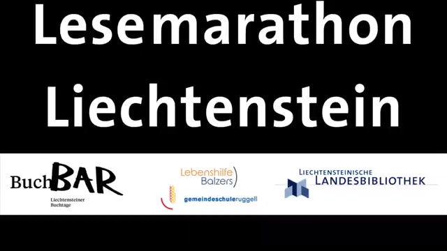 Lesemarathon in Liechtenstein, erste Runde