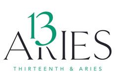 13th & Aries Logo