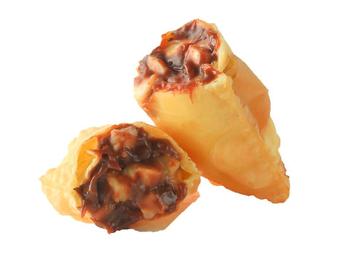 PASTEL DE BANANA & NUTELLA (porção 6 unidades)