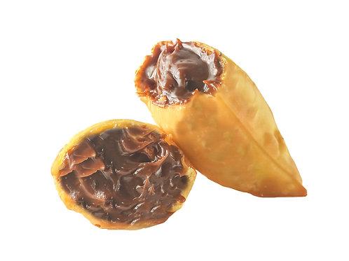 PASTEL DE CHOCOLATE (porção 6 unidades)