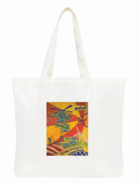 Helicopter Large Tote Bag