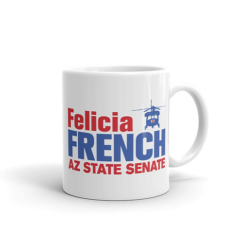 Felicia French AZ Senate Mug (11oz., Ceramic)