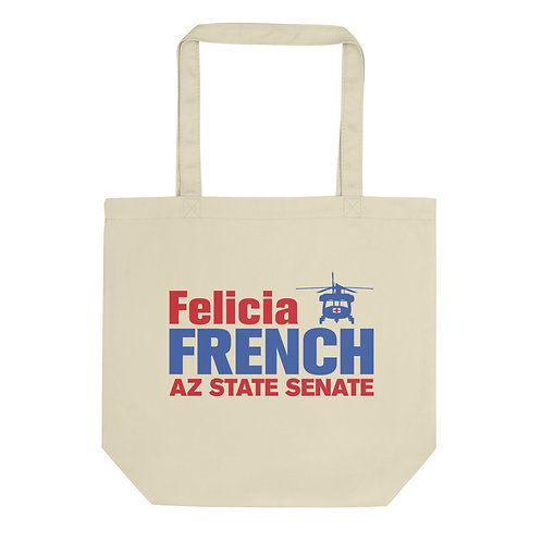 Felicia French Eco Minimalist Tote Bag