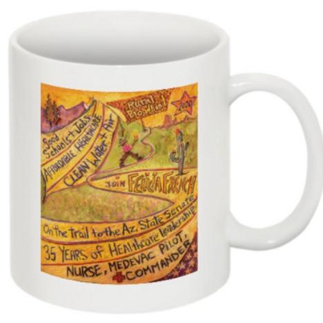 AZ Trail Mug (11oz, Ceramic)