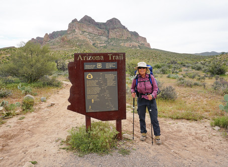 Why We Need The Candidate That Hiked the 800-Mile Arizona Trail in the State Legislature