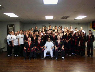 梁挺宗師2017年巴西及美國德薩斯短期班 Great Grandmaster Leung Ting 2017 seminars in Brazil & USA Texas.