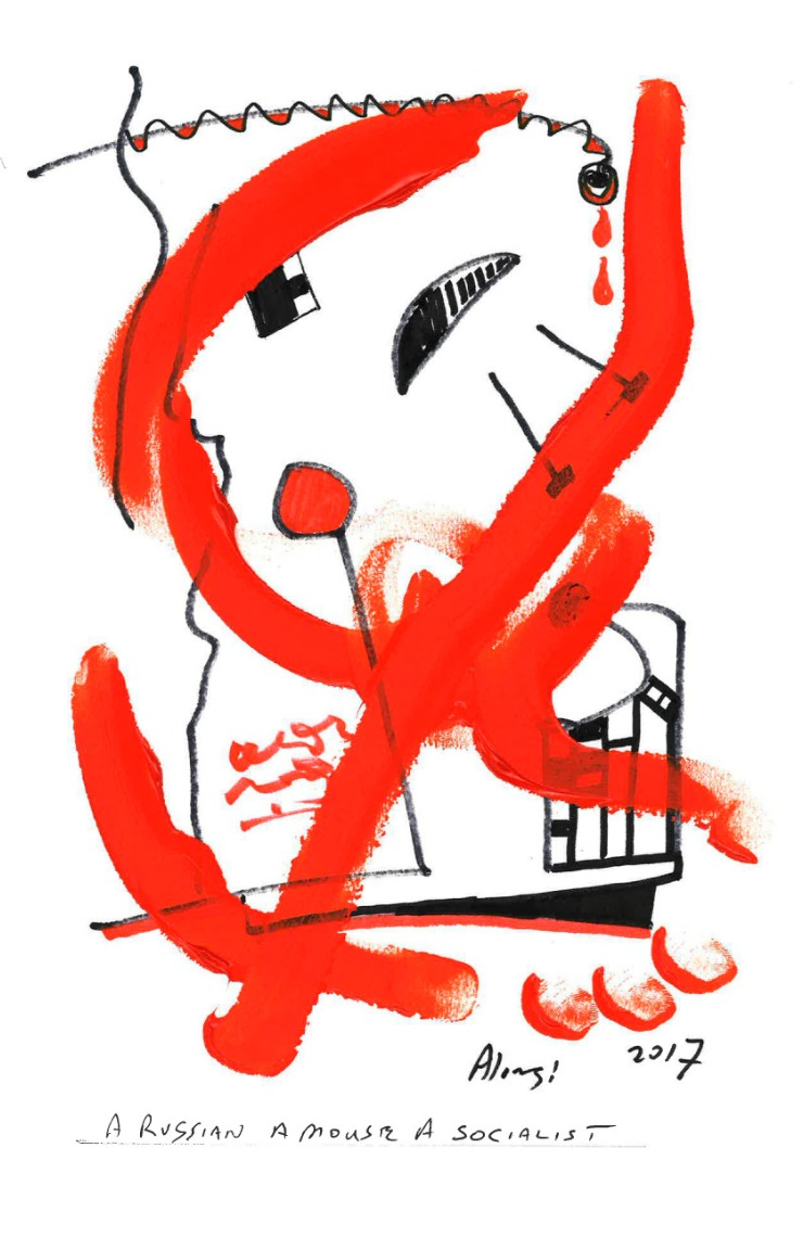 A RUSSIAN MOUSE A SOCIALIST