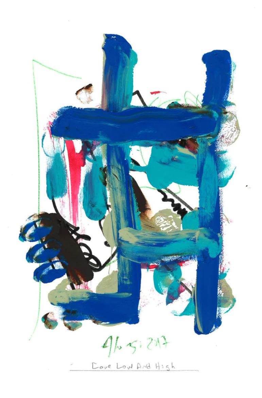 THE BLUE LADDER