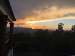 Atardecer en Pachuca