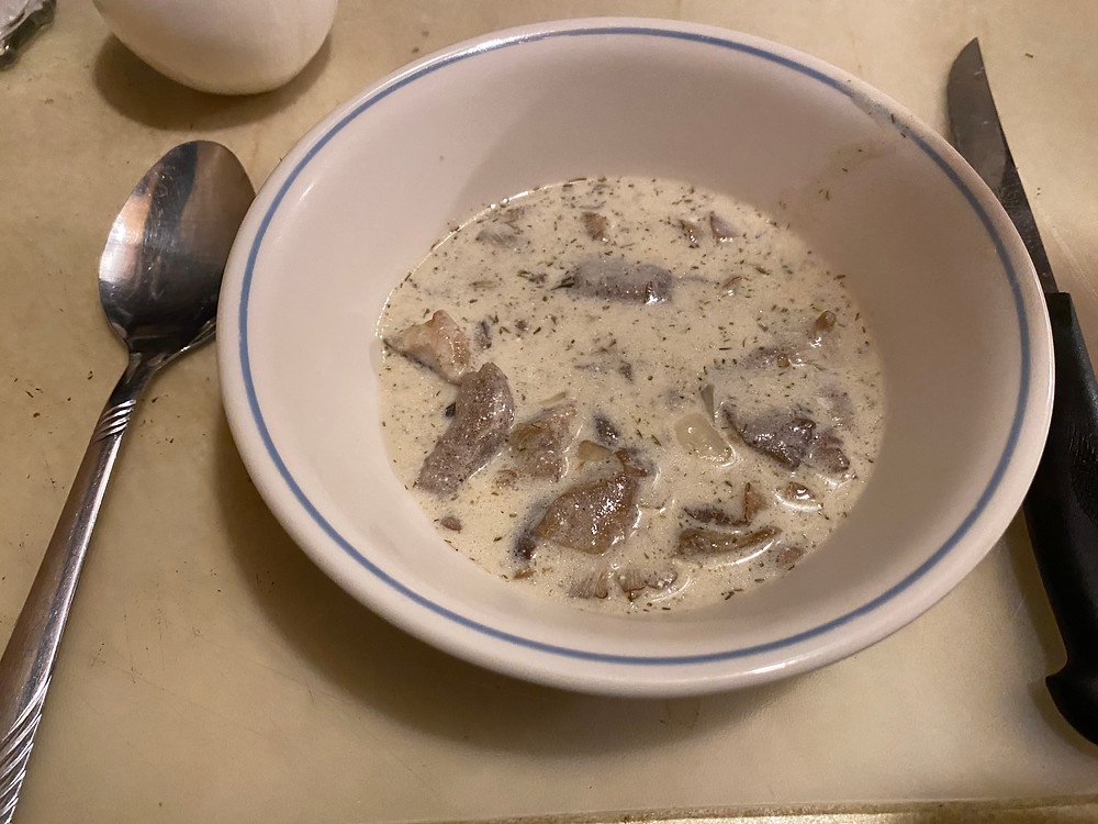 Sour Cream Honey Mushroom