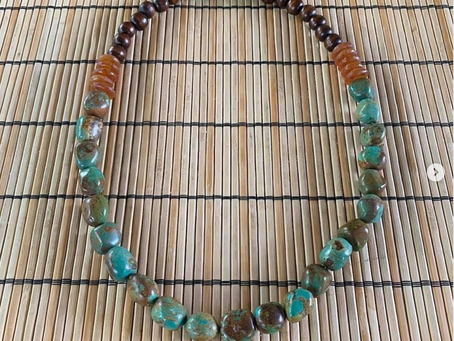 Stuff I Made: Turquoise and Brown