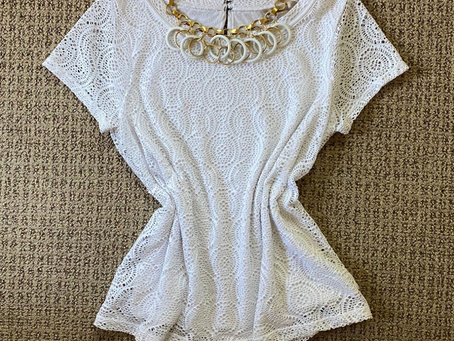 Thrifted Thursday: BR lace