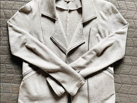Thrifted Thursday: Knit Moto Jacket