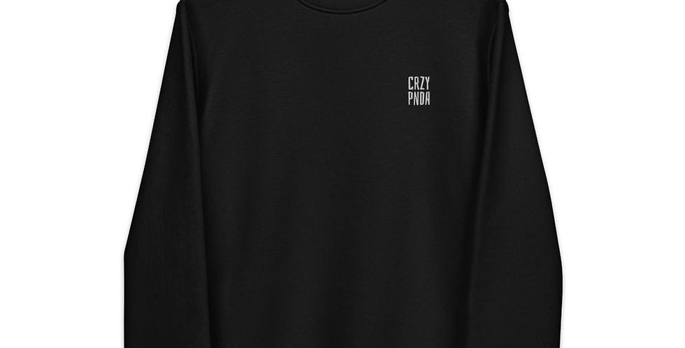 Crzypnda Logo type Unisex eco sweatshirt