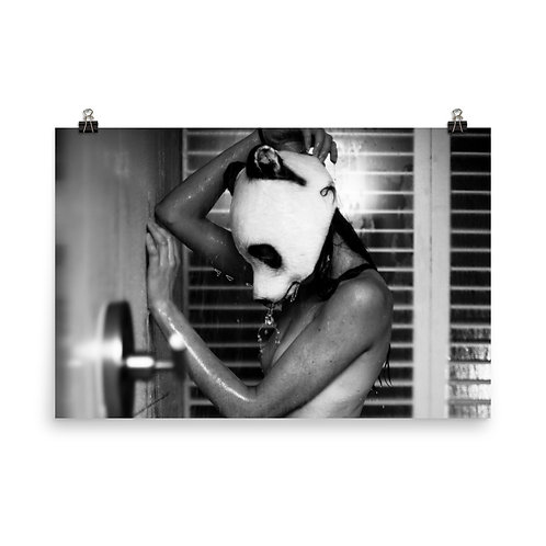 Photo paper poster