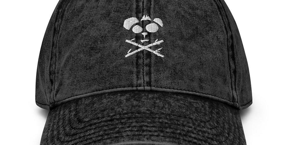 CrzyPnda Mark Vintage Cotton Twill Cap