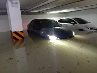 #024 Grand Avenue 地下駐車場水没に関する保険申請などお急ぎ下さい