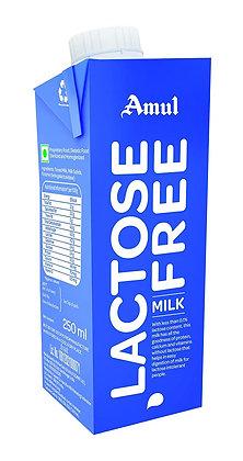 Amul Lactose Free Milk 250 ML Pack