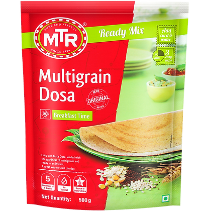 MTR Multigrain Dosa Mix 500 g Pack