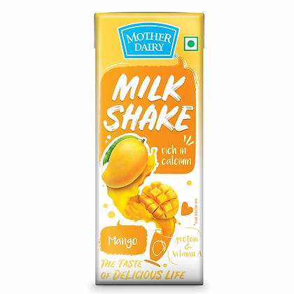 Mother Dairy Milk Shake Mango 200 Ml Carton