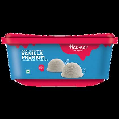 Havmor Premium Ice Cream Vanilla , 1 L Tub