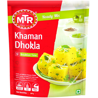 MTR Khaman Dhokla Mix 500 g pack