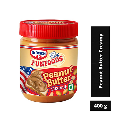 Dr. Oetker FunFoods Peanut Butter Creamy, 400 g Pack