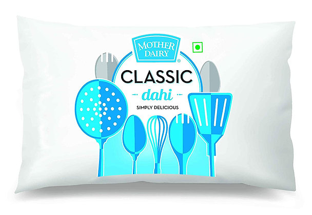 Mother Dairy Classic Dahi-Pouch