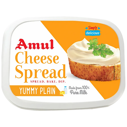 Amul Processed 100% Pure Milk Cheese Spread Butter