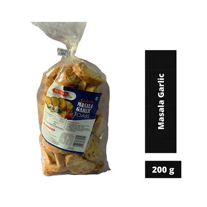 Muskan Masala Garlic Rusk, 200g