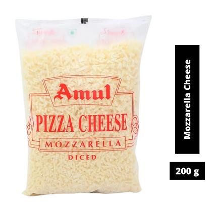 Amul Mozzarella Cheese Diced - 200 g