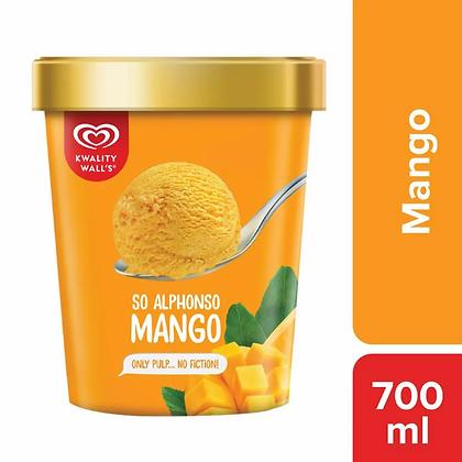 Kwality Walls Creme, Delights Mango , 700 ml Cup