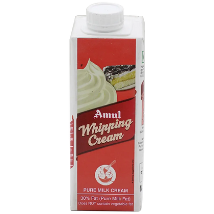 Amul Whipping Cream, Tetra