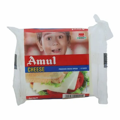 Amul Cheese Slices- 200 g Pouch