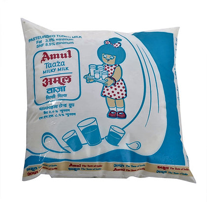 Amul Toned Milk-Pouch