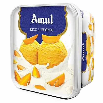 Amul Ice Cream - King Alphonso, 1 L