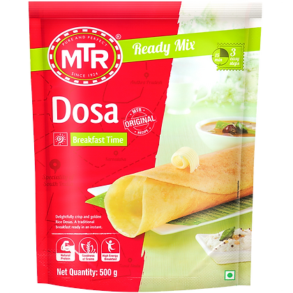 MTR Rice Dosa Mix 500 g Pack