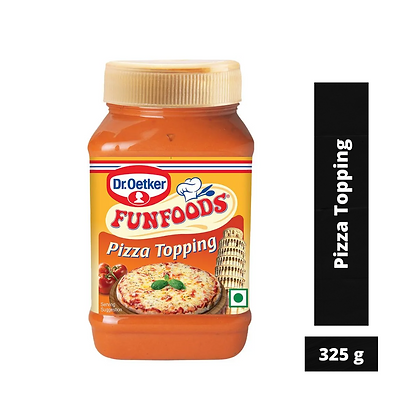 Dr. Oetker FunFoods Pizza Topping, 325 g