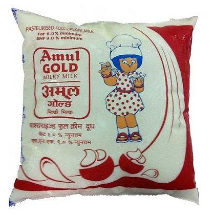 Amul Full Cream Milk-Pouch