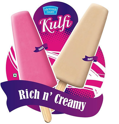 Mother Dairy Rich n' Creamy kulfi - 50ml Pack