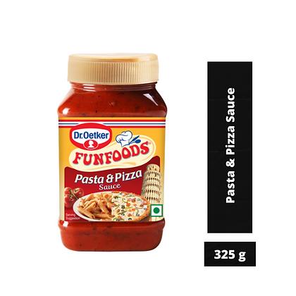 Dr. Oetker FunFoods Pasta & Pizza Sauce, 325 g Pack